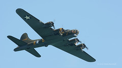 Sally B - Airbourne (1076) (Malcolm Bull) Tags: 20160813airbourne1076edited1web sally b b17 include airbourne eastbourne airshow flying display