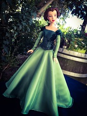 Belle Green Dress OOAK Disney Dolls Fan Tags Tonner Doll Limited