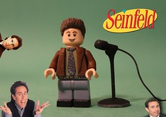 LEGO Custom Seinfeld | Jerry Seinfeld (The FUDGY) Tags: jerry seinfeld lego custom mic