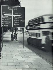 1963 Worboys style road sign (designed by Jock Kinneir and Margaret Calvert) mock up - Birmingham (mikeyashworth) Tags: birmingham birminghamcitytransport birminghamouterringroad a34 worboysroadsign 1963 roadsigndesign kinneirandclavert uktrafficsigndesign mikeashworthcollection