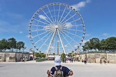 IMG_5257 (Margaux SP) Tags: paris france capital summer holiday t voyage amoureux ville couleur vintage hold grande roue jardin des tuileries