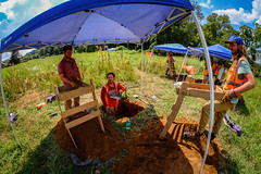 Virginia Archaeology (Bob G. Bell) Tags: archaeology archaeologists dig pipeline work jobs environment sacredcorn corn tetratech crm