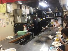 Tiny okonomiyaki restaurant (Stop carbon pollution) Tags: japan  honshuu  hiroshima