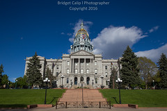 Colorado State Capitol Building (Bridget Calip - Alluring Images) Tags: 1894 2016 5280abovesealevel alluringimages alluringimagesllc architecture batmanshooting blueskies bridgetcalip buildings capital capitalcities capitalcity capitalofcolorado centennialstate cityscape cityclouds civiccenter colorado coloradoflag coloradogeneralassembly crime denver denverbroncos denvercityandcounty denvercityandcountybuilding denverskyline downtowndistrict dramaticclouds dusk evening exterior governorofcolorado greengrass highclouds marijuanalegal milehicity milehighcity morning nationalregisterofhistoricplaces queencity queencityoftheplains rockymountains skyline skyscrapers sunrise sunset travel trees unitedstatesflag vacationdestination allrightsreserved buildingcomplex copyrighted goldendome greentrees metalandglass outdoor redstonesteps whitegranite