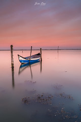 Blue boat (joao.diasfilipe) Tags: canon 5diii canon 5d mark iii filter lee nd grad sunset joao dias photography landscape 1635 boa ria aveiro