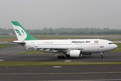 F-OJHI Airbus A.310-304 Mahan Air (pslg05896) Tags: fojhi airbus a310 mahanair dus eddl dusseldorf lohausen
