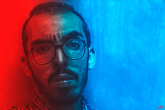 Warcraft (Mo Saeed) Tags: warcraft self snapshot e emotions egypt gettyimage feelings me help devil died fineart project crazy portrait photography moody nobody style surreal conceptual instagram life red blue