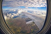 (marozn) Tags: aerial air aircraft airliner airplane atmosphere aviation cloud cloudscape day earth fields flight fly geometry green ground height high horizon horizontal journey land landscape machine nature plane scenic sky transport europe transportation travel trip view wing window illuminator outdoor mountains above clouds up lake sea