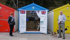 A very British beach hut (r4foto) Tags: dawlish dawlishdevon beachhutsdawlish