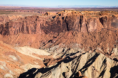 Looking Down into Upheaval Dome (jeff_a_goldberg) Tags: nationalparkservice landscape utah islandinthesky canyonlandsnationalpark nps upheavaldome nature moab unitedstates us