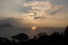 Hong Kong Island from Peng Chau (a.pierre4840) Tags: olympus omd em5 mzuiko 25mm f18 sunrise dawn hongkong victoriaharbour pengchau seascape marine