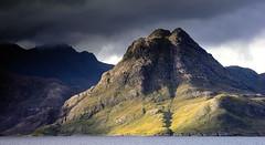 Sgurr na Stri. (Chris..Miles) Tags: sgurrnastri mountain blackcuillin skye rocks elgol watermood