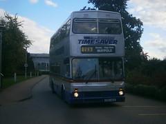 2912 @ Wythall Park and Ride (ianjpoole) Tags: timesaver mcw metrobus mk2 d912nda 2912 wythall park ride