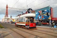 Blackpool 31 (Steveo46240) Tags: tram blackpool31 blackpool pleasurebeach blacpooltower
