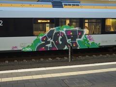 EQT (bunt) (mkorsakov) Tags: train graffiti zug bahnhof colored piece hbf bunt mnster zest eqt rb89 kidrue