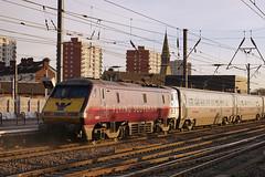 East Coast 91101 - Doncaster (Neil Pulling) Tags: uk england train yorkshire transport railway eastcoast doncaster southyorkshire eastcoastmainline 91101 ecml doncasterstation eastcoast91101