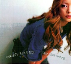 2001.08.08_Say-the-word-vinyl (3) (Namie Amuro Live ) Tags: namie amuro cover singlecover  saytheword