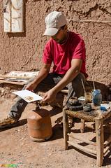 """marokkanische """"Malerei"""" (mara.dd - www.marasweltreisen.de) Tags: africa morocco afrika marokko afrique atbenhaddou hoheratlas soussmassadra"""