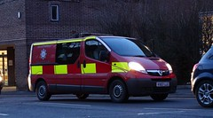 Hereford & Worcester Fire & Rescue Service [S138] | Urban Search And Rescue | Crew Bus | Vauxhall Vivaro | VX07 LLE (CobraEmergencyPhotos) Tags: urban rescue bus fire search crew and service hereford worcester vauxhall usar vivaro lle vx07 hwfr