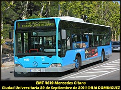 idnb880-EMT4619 (ribot85) Tags: bus mercedes benz coach crt consorcio autobus emt autobuses universitaria ciudaduniversitaria 4619 citaro gorba crtm lineaf cuniversitaria emtmadrid emt4619