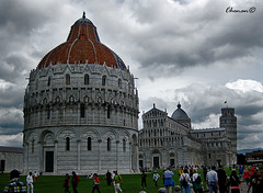 Pisa (chenan333) Tags: italia torre pisa inclinada baptiesterio