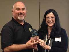Rep. Matt Hudson being recognized as the 2014 BioFlorida Legislator of the Year!