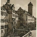Kurt Hielscher Deutschland  1931 Mergentheim schloss