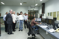 German Consul General Dr Klinner and Hans Paschke visiting Engro Polymers with Wajid hussain Junejo