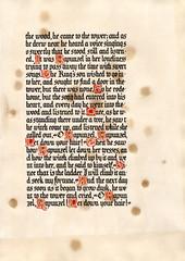 Rapunzel fairy tale by br. Grimm (veverka83) Tags: fairytale gothic calligraphy rapunzel grimm