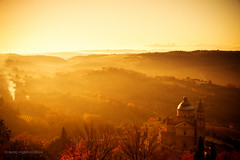 San Biagio (miglio) Tags: fog canon san tuscany montepulciano toscana nebbia biagio sanbiagio canoneos7d
