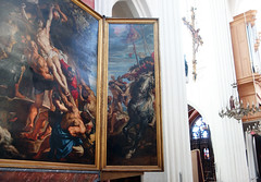 Rubens, Elevation triptych, right panel view