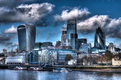 London (diminji (Chris)) Tags: london thames architecture clouds buildings thecity riverthames hdr tower42 lovelondon londonbuildings skyporn thecitylondon hdrtoning herontower londonfinancialdistrict 30stmaryaxethegherkin 20fenchurch londonfinancialcentre leadenhalltowercheesegrater
