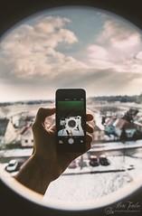 Winter selfie. (Adam Tombor Photography) Tags: winter sun snow cold clouds sunrise rise selfie neauty canonadamtombor