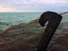 Hook | Duluth, Minnesota (minnesotagypsy) Tags: lake beautiful minnesota vintage hook mn duluth lakesuperior uniqueshot iphonephotography