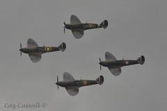 P7308 (AR213), N3200, P9374 & X4650 (caz.caswell) Tags: flying legends duxford spitfire warbirds warbird raf tfc imperialwarmuseum iwm royalairforce rafduxford thefightercollection 19squadron 92squadron gaist 54squadron ar213 spitfiremki n3200 71squadron x4650 gcguk gmkia p9374 duxfordcambridgeshire p7308 gcfgj july142014