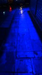 Ladadika Thessaloniki, Macedonia, Greece DSC01913 (omirou56) Tags: blue light red rain night hellas greece macedonia timeless  makedonia         sonydschx9v ladadikathessaloniki