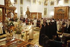 1. Праздник Богоявления в Святогорской Лавре