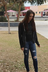 natural (lorraine.vega22) Tags: lighting school trees red brown cute green fall love girl grass leaves yellow hair outside long natural you lol gray assignment ripped jeans jacket ugly bluejeans gril karley wfhs scandles karleeeeeeyyyy outsidenautral