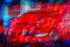 Little Red (lensletter) Tags: auto blue motion blur car automobile antique antiquecar wheels vehicle oldcar redwhiteandblue redcar textural oldgasstation whitewalltires oldfillingstation theawardtree kreativepeople lensletter