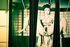 ARAKI - FETISH SKATE - TRIPTYQUE (nARCOTO) Tags: art girl bdsm araki geisha skate sk8