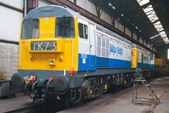 Balfour Beatty Class 20 20142 & 20189 (Barry Duffin) Tags: uk england train photography nikon diesel rail railway trains locomotive swanwick butterley 20142 20189 class20 balfourbeatty d3000