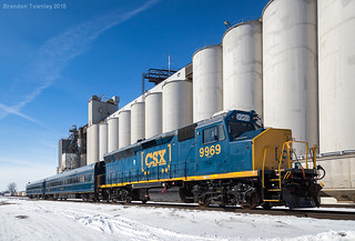 CSX 9699 on W003-27 in Marion, Ohio