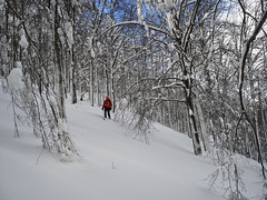 Scialpinismo Laga - Macera della Morte da Umito