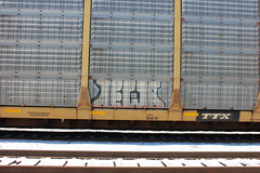 02202015 138 (CONSTRUCTIVE DESTRUCTION) Tags: train graffiti streak tag boxcar graff piece newa moniker