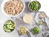 Pasta salad with green beans and tahini dressing (foodpornveganstyle) Tags: food green salad vegan beans pasta dressing asparagus vegetarian tahini veganfood foodphotography mung makaron sałatka foodstyling fasolka szparagi szparagowa foodpornveganstyle