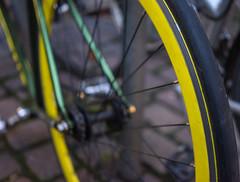 yellow rim (SpotShot) Tags: bicycle wheel yellow 35mm t sony gelb mm fe rim 35 za f28 fahrrad a7 sonnar felge sonya7 ilce7 sony35mmf28 sel35f28z sonyfe35mmf28