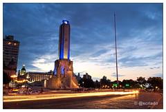 Monumento a la Bandera Nocturno (Sebastian Criado) Tags: santafe argentina rosario largaexposicin monumentoalabandera