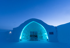 Icy entrance - ICEHOTEL Jukkasjrvi, north Sweden [Explore #5 thank you all!] (Maria_Globetrotter (not globetrotting)) Tags: img1219