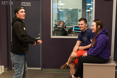"""Hey From In Here!"" (10/04/2014) (Matthew Trevithick Photography) Tags: ontario canada london students radio random ryan matthew shannon derek program april spencer journalism xfm 2014 trevithick broadcastjournalism cixx mbuilding fanshawecollege matthewtrevithick mtphotography 1069thex xfmnews"