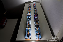 Gulf collection (belgian.motorsport) Tags: scale miniatures model gulf models f1 collection mirage 917 gallardo gtr gt40 143 dbr9 43th 143th mp412c